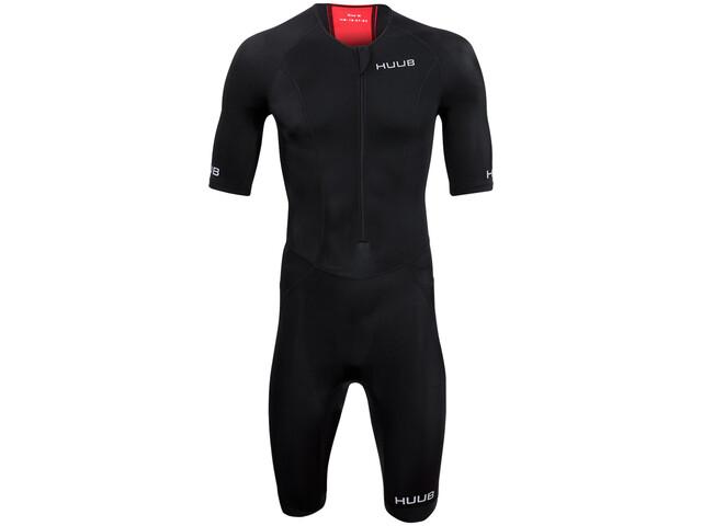 HUUB Essential Trisuit Long Course Mężczyźni, black/red